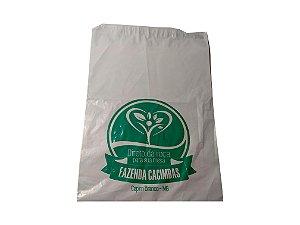 Envelope plástico segurança lacre 26x36 cm personalizado - Pct c/500
