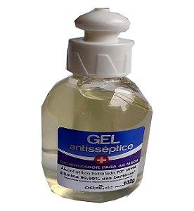 Álcool gel 70% Detagold - Pct c/6x102g