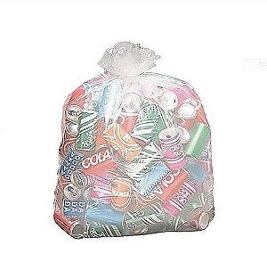 Sacos p/Lixo Reciclável 100 litros 0,75x1,05x0,06 - Pct c/100