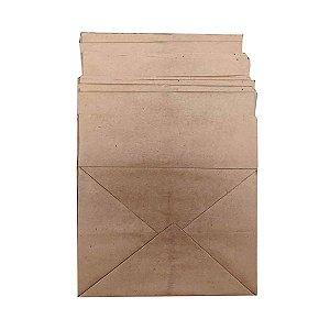 Sacos de papel kraft 120g 25x22x30cm delivery - Pct c/100