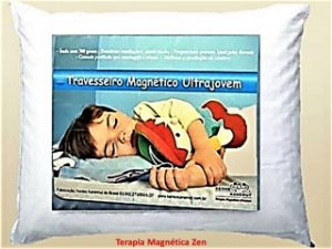 Travesseiro Massageador Magnético  Ultrajovem Kenko Kanemut (15 cm)
