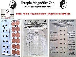 Emplastro Terapêutico Magnético Kenko Mag