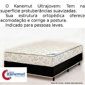 Colchão Terapêutico Kenko Kanemut Magnético Ultrajovem com Pillow Top by Terapia Magnética Zen