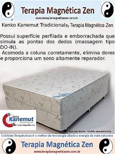 Colchão Terapêutico Magnético Tradicional  da Kenko Kanemut by Terapia Magnética Zen