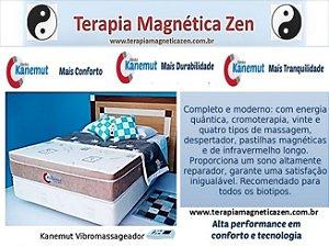 Colchão Terapêutico Kenko Kanemut Magnético, Infravermelho longo, Vibroterápico e Bioquântico by Terapia Magnética Zen