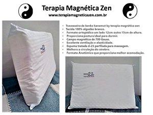 Travesseiro Magnético Contour pillow ortopédico massageador Kenko Kanemut By Terapia Magnética Zen