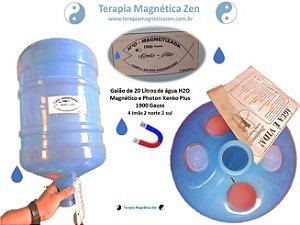 Galão Azul magnético e photon 20 litros kenko plus