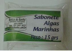 MINI SABONETE  ALGAS MARINHAS 15 GRAMAS CX C/  500