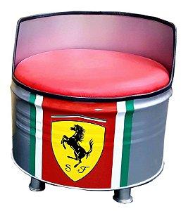 Poltrona de tambor - Ferrari