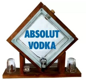 Pingometro de Bloco - Absolut