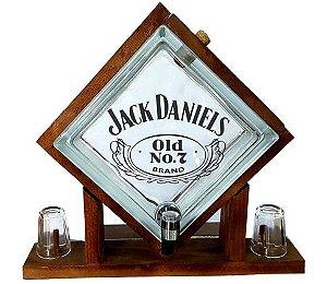 Pingometro de Bloco de vidro-  Jack Daniel's