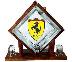 Pingometro de Bloco de vidro -  Ferrari
