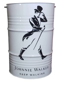 Tambor 200 Litros Aparador - Johnnie Walker