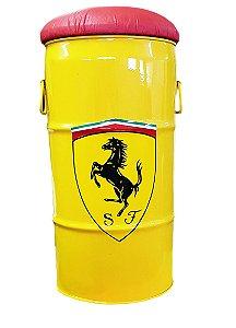 Banqueta Ferrari - (Assento Vermelho)