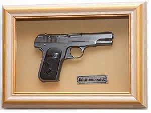 Quadro de Arma Resina Colt Automatic - Clássico