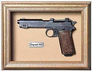 Quadro de Arma Resina Steyr mod. 1912 - Clássico