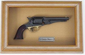 Quadro de Arma Resina 1863 Remington Police cal. .36 - Clássico