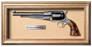 Quadro de Arma Resina 1858 Remington New Model Army cal. .44 - Clássico
