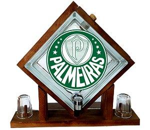 Pingometro de Bloco de vidro-  Palmeiras