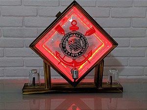 Pingometro de Bloco -  Corinthians - COM LUZ DE LED