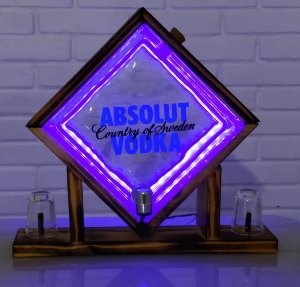 Pingometro de Bloco -  Absolut - COM LUZ DE LED