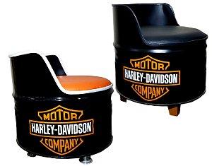 Kit Tema Harley Davidson - 2 Poltronas de tambor