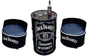 Kit Jack Daniel's - Tambor + 2 Poltronas