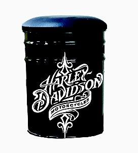 Banquinho Balde de Gelo Harley Davidson