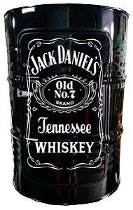 Tambor Barzinho com Luz de Led - Jack Daniel's