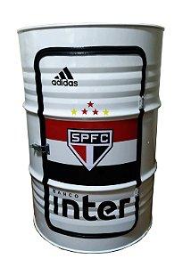 Tambor Barzinho com Luz de Led - São Paulo Futebol Clube