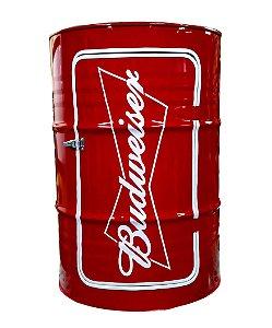 Tambor Barzinho Com Luz de Led - Budweiser
