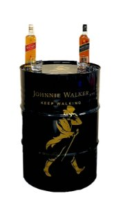 Tambor Decorativo 200 Litros - Johnnie Walker