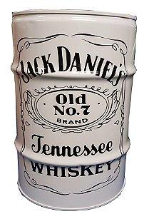 Tambor Decorativo 200 Litros - Jack Daniels