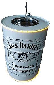 Lavatório Sem armário Jack Daniels com Luz de Led