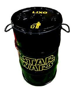Lixeira de Tambor 80 Litros - Tema Star Wars