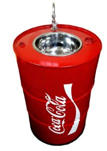 Lavatório Sem armário Tema Coca Cola