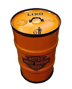 Lixeira de Tambor - Harley Davidson