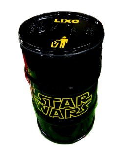 Lixeira de Tambor - Star Wars
