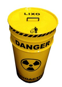 Lixeira de Tambor - Radioativo