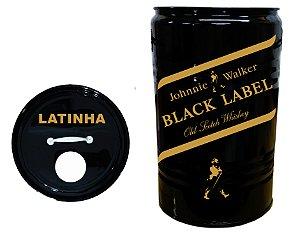 Lixeira de Tambor para Latinhas - Black Label