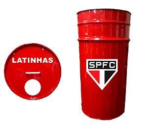 Lixeira de Tambor para Latinhas - São Paulo