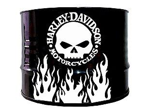 Mesa de Centro - Tema Harley Davidson 2