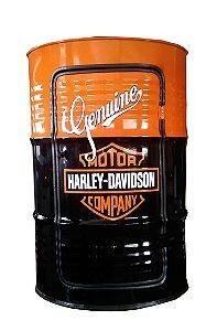 Tambor Barzinho Com Luz de Led - Tema Harley Davidson 2