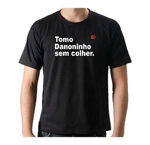 Camiseta Manga Curta iCuston TOMO DANONINHO DE COLHER.