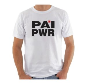 Camiseta Manga Curta iCuston PAI PWR