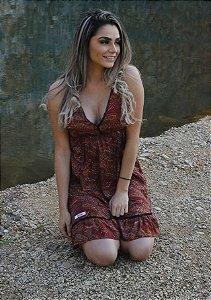 Vestido Seda Simone