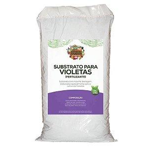 Substrato Para Plantar Violetas do Jardineiro Amador 1kg
