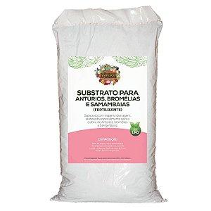 Substrato Para Plantar Antúrios, Bromélias e Samambaias do Jardineiro Amador 1kg