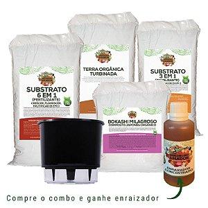 Kit para Plantio em Alporquia e Estaquia do Jardineiro Amador