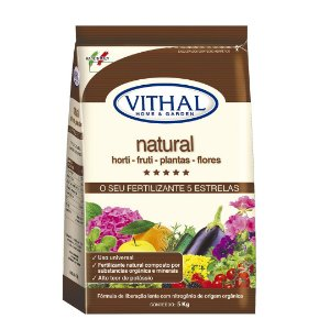Fertilizante Natural 1 KG Vithal do Jardineiro Amador
